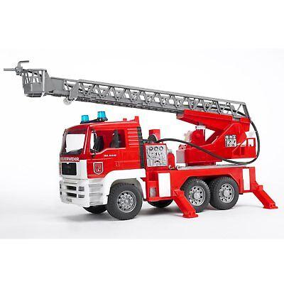 Camión de bomberos Scania serie R con bomba de agua y módulo de luz y sonido, in