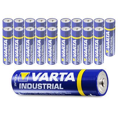 20 x Varta AAA Industrial Micro LR03 Batterie | 1200mAh 1,5V Alkaline| 20 Stück