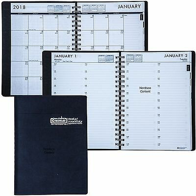 2018 Hod289632 House Of Doolittle 24-hour Daily Monthly Appointment Book 7x10