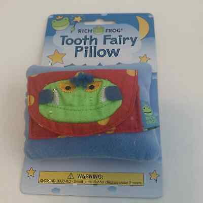 Rich Frog -Tooth Fairy Pillow, Cute, NWT