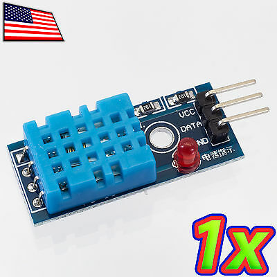 1x New Dht11 Temperature And Relative Humidity Sensor Module For Arduino