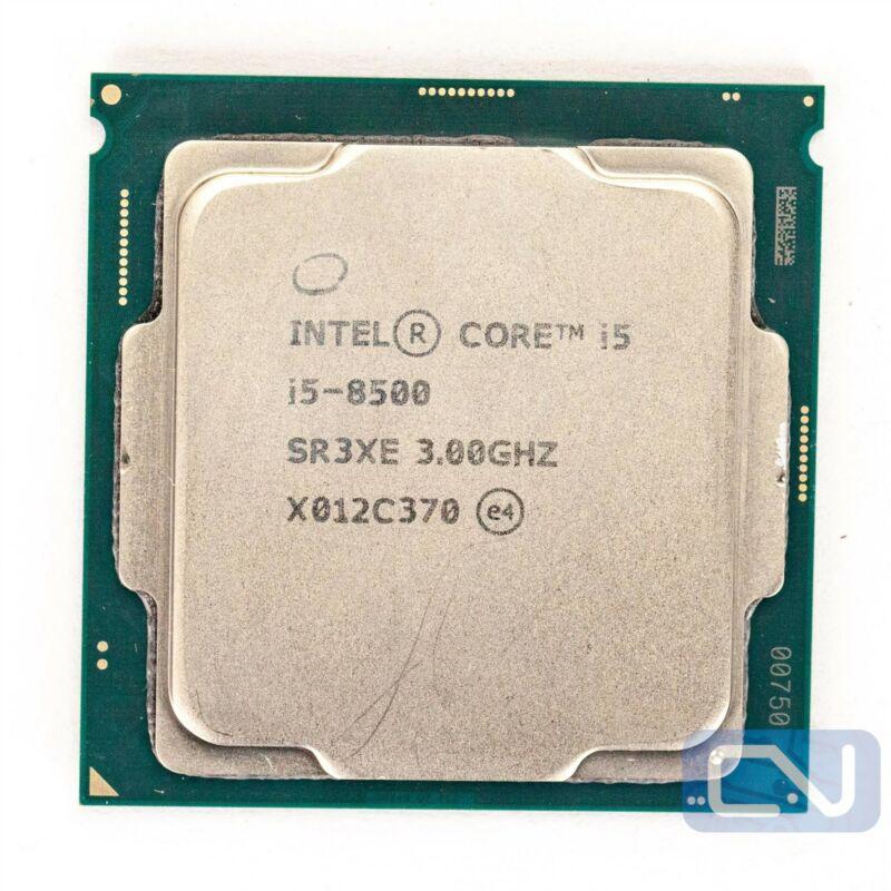 Intel Core i5-8500 3GHz 9MB 8GT/s SR3XE LGA1151 B Grade CPU Processor