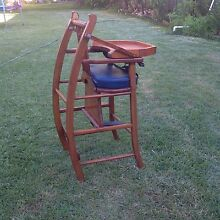 Highchair and Rocking horse Hamilton South Newcastle Area Preview