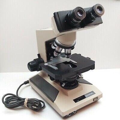 Olympus Bhtu Bh-2 Microscope Japan Splan Fl2 Dplan 10040104 60v 5 Objective