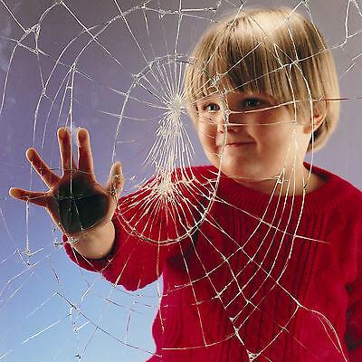 Clair 100 micron 75cm x 4m sécurité verre anti brisent film de fenêtre