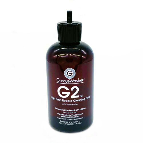GrooveWasher G2 Record Cleaning Fluid - 8oz Refill - Direct from GrooveWasher!