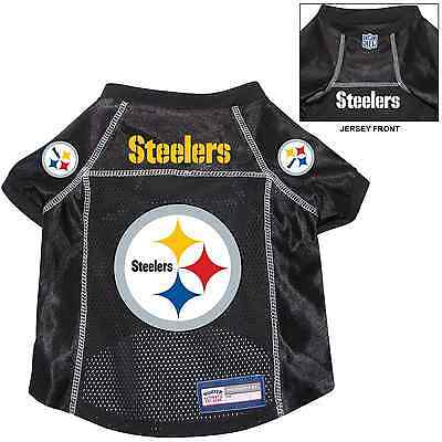 - NEW PITTSBURGH STEELERS PET DOG PREMIUM NFL ALTERNATE JERSEY w/NAME TAG
