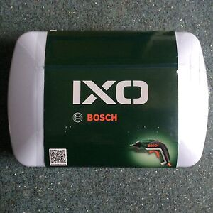 Bosch IXO V 3.6 volt Lithium-ion cordless screwdriver