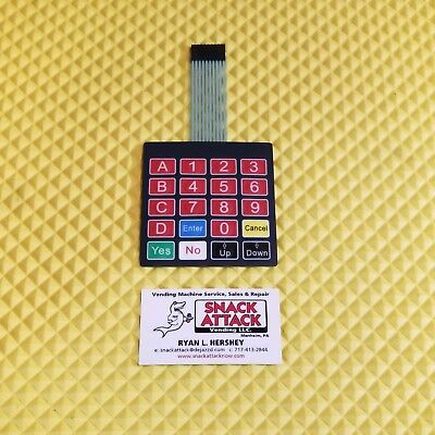 Rs800 Rs850 Combo Vending Machine Key Pad Free Usps Priority 2 Day Ship