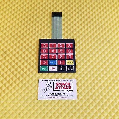 Rs800 Combo Vending Machine Key Pad Free Ship