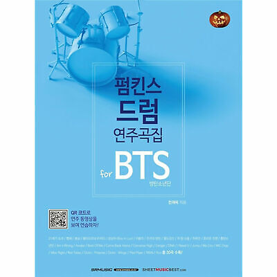 Bangtan Boys Pumkins Drum Collection For BTS Drum Score +Free Gift