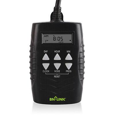 7 Day Heavy Duty Digital Programmable Timer - Dual Outlet (Outdoor) ()
