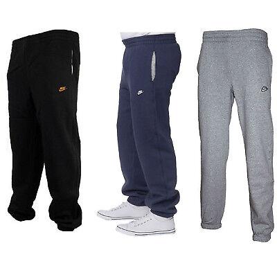 Nike 3D Logo Mens Fleece Joggers Tracksuit Bottom Gym Running Jogging Sweatpants