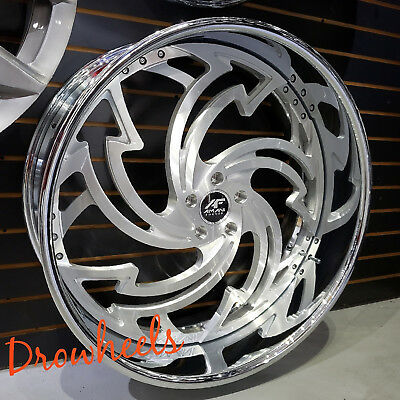 26 AMANI FORGED W TIRES  Box Chevy Impala Caprice Cutlass Chevelle IN STOCK NEW