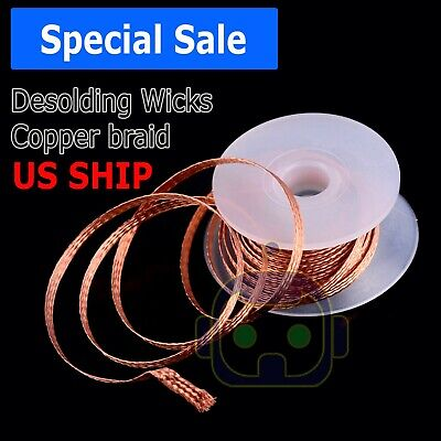 1pc 2.0mm 1.5m Desoldering Braid Solder Remover Wick Wire Repair Tool New