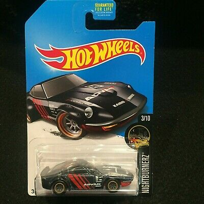HOT WHEELS 2017 NIGHTBURNERZ NISSAN FAIRLADY Z SUPER TREASURE HUNT REAL RIDERS