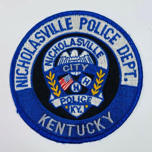 Nicholasville Police Kentucky Patch