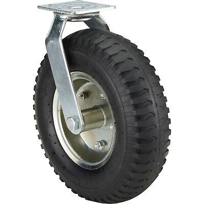 Ironton 12in. Swivel Pneumatic Caster - 450-lb. Capacity Lug Tread