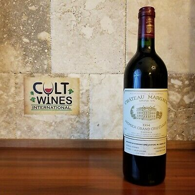RP 91 pts! 1994 Chateau Margaux Grand Vin Bordeaux wine, Margaux