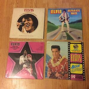Elvis Presley LP lot. 19 different albums.