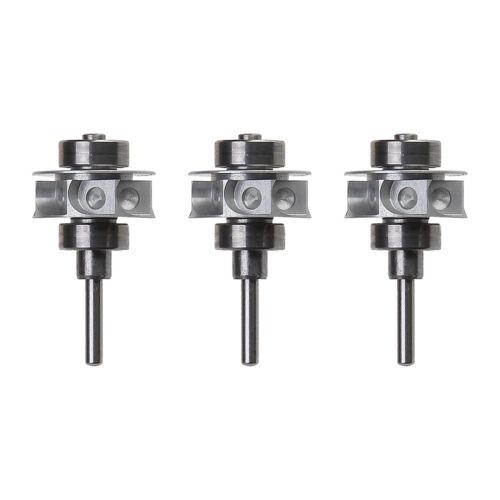 3 X Dental Cartridge Rotor Turbine Fit Ruixin RXGD Fiber Optic Handpiece