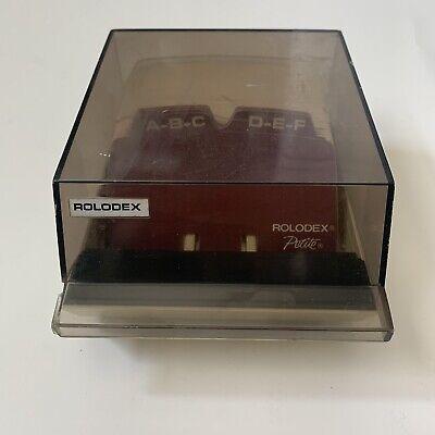 Vintage Rolodex Business Address Telephone Card File Petite Model S310c W Cards