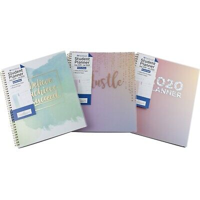 Planahead 2019 2020 Student Monthly Weekly Planner Agenda School Class 9x11