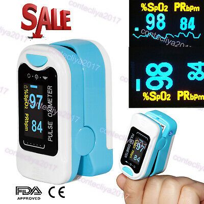 Fda Oled Finger Tip Pulse Oximeter Blood Oxygen Meter Spo2 Heart Rate Monitorus