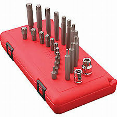 Sunex 9724 24 Piece Ribe Bit Socket Set