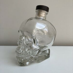 Crystal Head Bottle with Cap