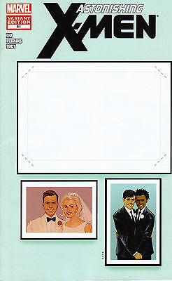 Marvel Comic Create Your Own Superhero (Astonishing X-Men #51 Create Your Own Wedding Variant Northstar  Gay)