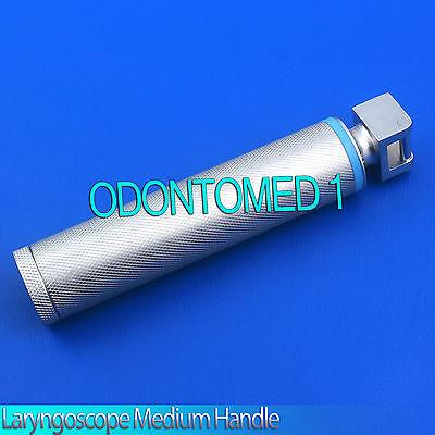 Laryngoscope Handle Medium Fit Mac Miller Blad Anesthesia Intubation Diagnostic