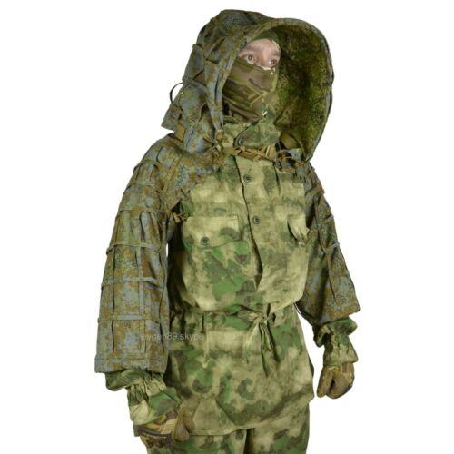 Disguise Sniper Coat / Viper Hood Russian Spetsnaz color Ratnik 6SH122 Autumn