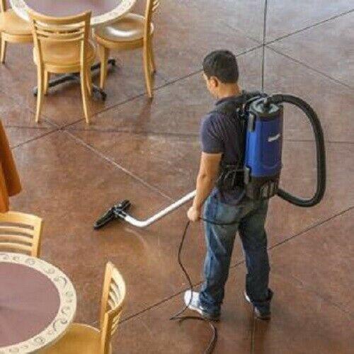 Commercial Backpack Vacuum Cleaner Shop Vac Industrial Carpet Floor Tool Kit New