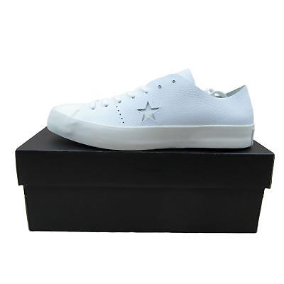Chatter One Star Prime Low Top White Oxford Size 9.5 Mens New 154839C