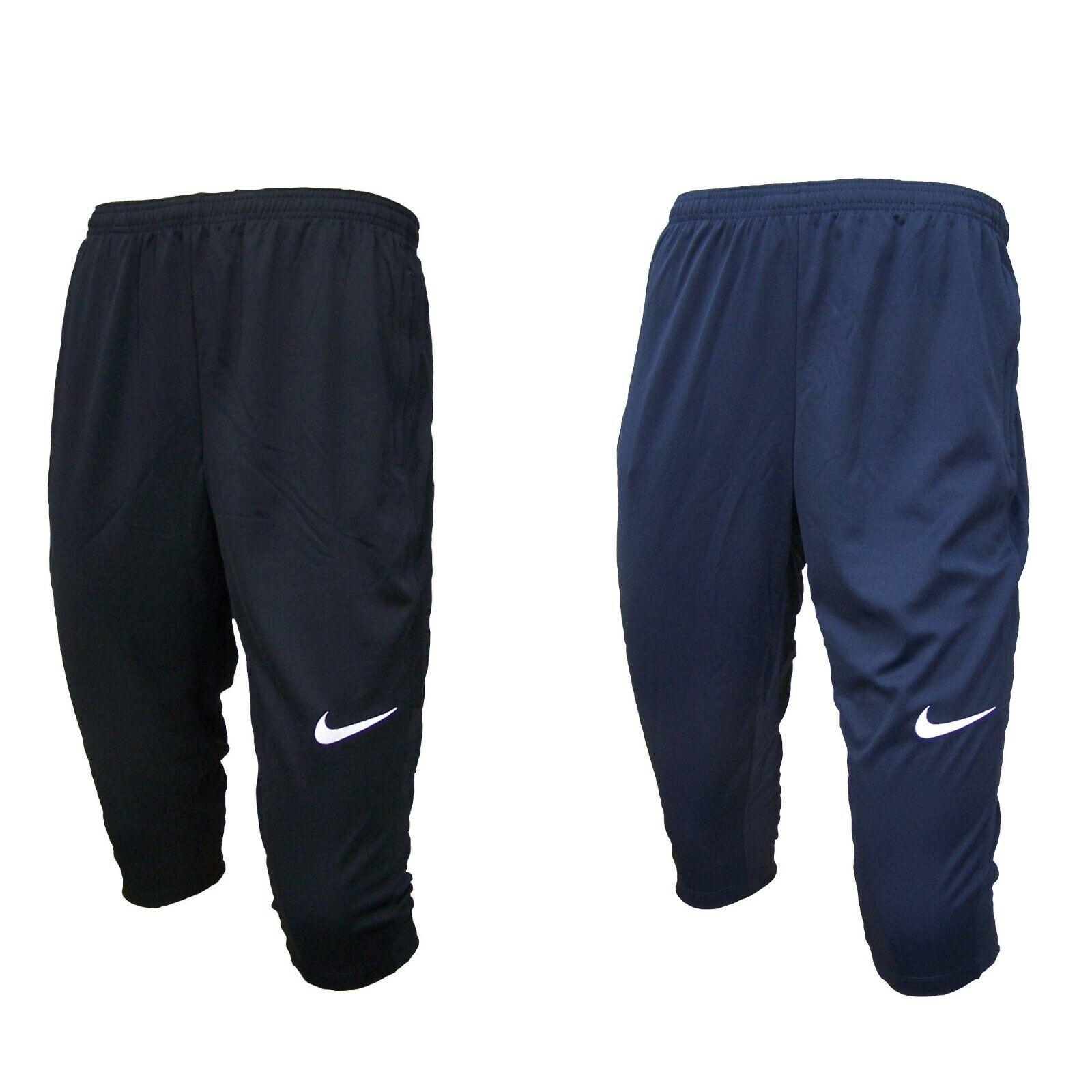 1838b541a8193f Nike 3 4 Hose Herren Jogginghose Sporthose Trainingshose verschließbare  Taschen
