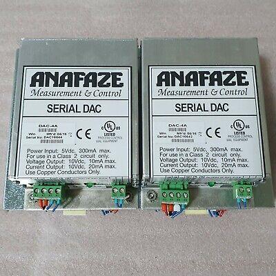 Watlow Anafaze Measurement Control DAC-4A