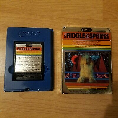 Riddle Of The Sphinx - Atari 2600 - Tested And Working - VCS - Boxed