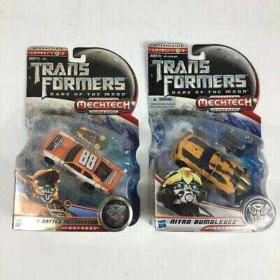 Transformers - Dark of the Moon - Nitro Bumblebee & Track Battle Roadbuster