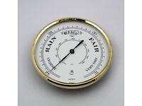 MEGA-QUARTZ 72mm BEZEL Quartz Clock  insert movement white Arabic dial
