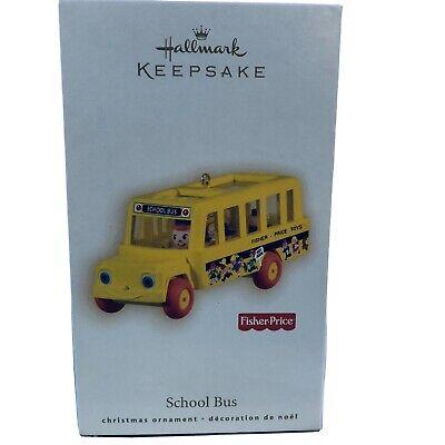 Hallmark Keepsake Ornament  FISHER PRICE SCHOOL BUS-2009.NMIB