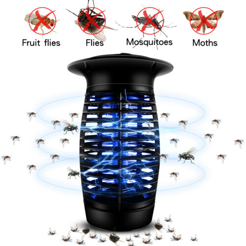 UV Tube High-Voltage Pest Control Electronic Mosquito Killer Indoor Bug Zapper