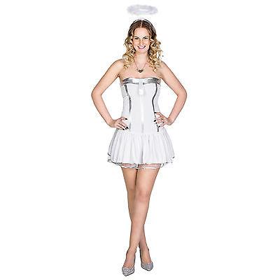 Sexy Engel Frauenkostüm Engelskostüm Karneval Fasching Kostüm Kleid Weihnachten  ()