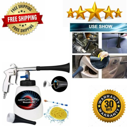 Car Cleaning Gun Interior Cleaner Duster Tool Pressure Auto Air Tools Detailing