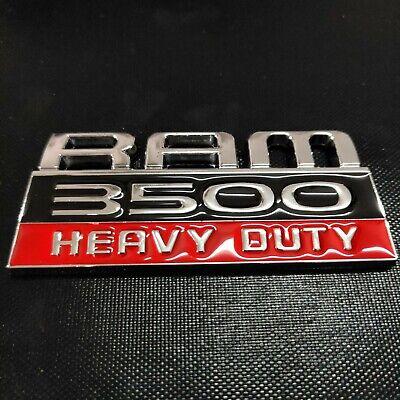 Fits Dodge Ram 3500 Heavy Duty Emblem