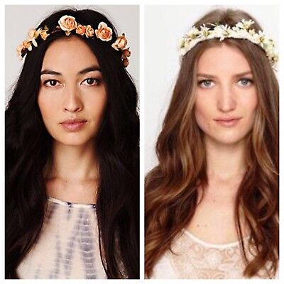 NWT Free People Flower Crown Halo Hair Accessory Head Band