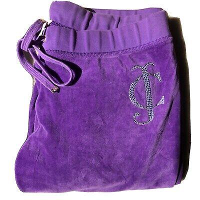 juicy couture tracksuit bottoms purple Size M