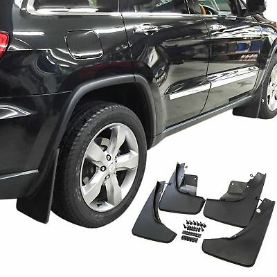 Fits Jeep Grand Cherokee Mud Flaps 11-20 Guards Protectors 4pc Front and Rear