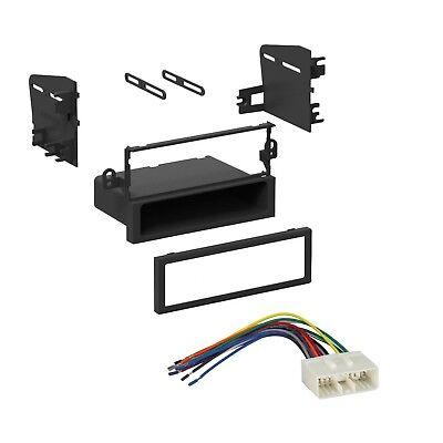 Car Stereo Radio Dash Install Kit with Harness for Chevrolet Aveo Daewoo Suzuki