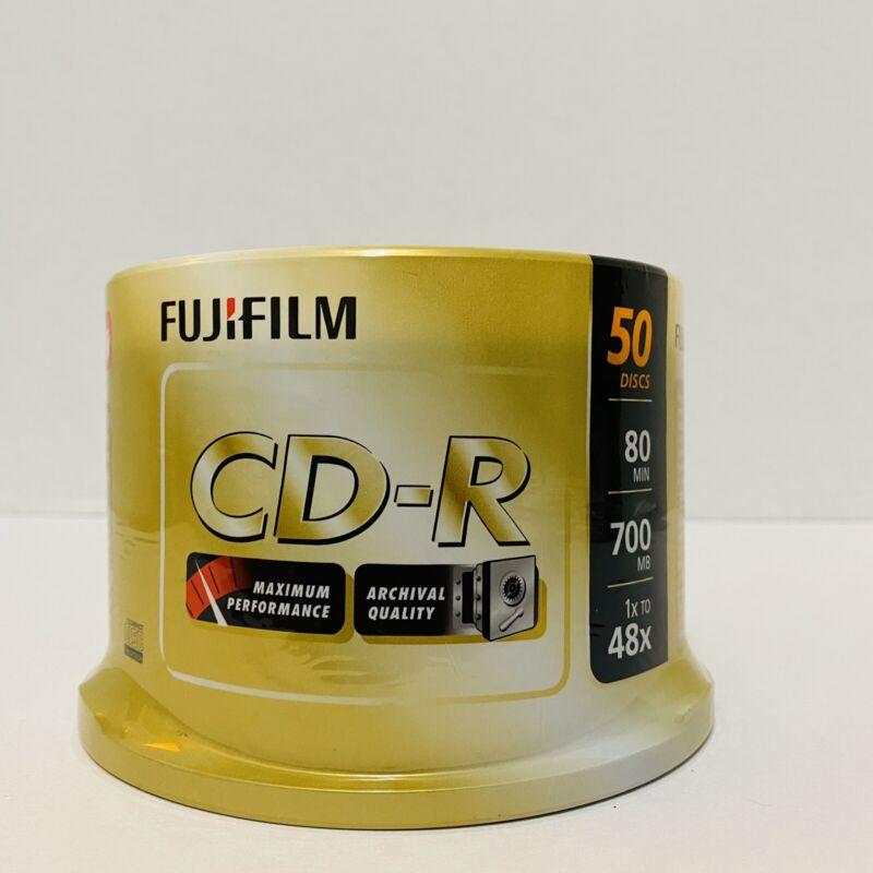 Fujifilm CD-R 50 Discs 80 Min 700 MB 1x To 48x